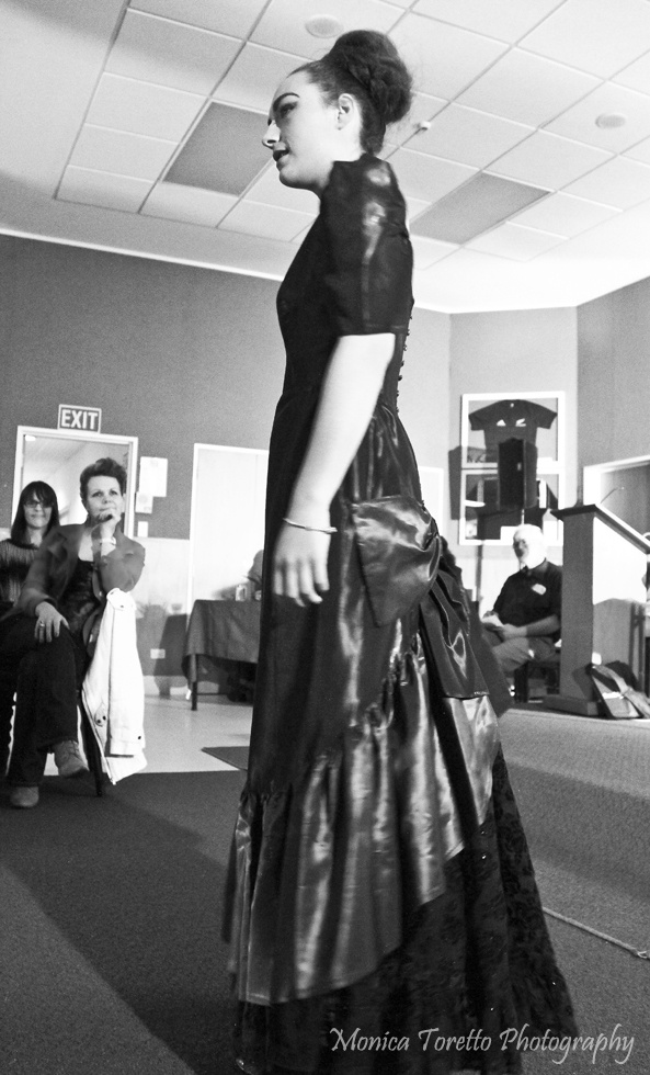 Upcycle Fashion Show in Invercargill. June 14, 2013.