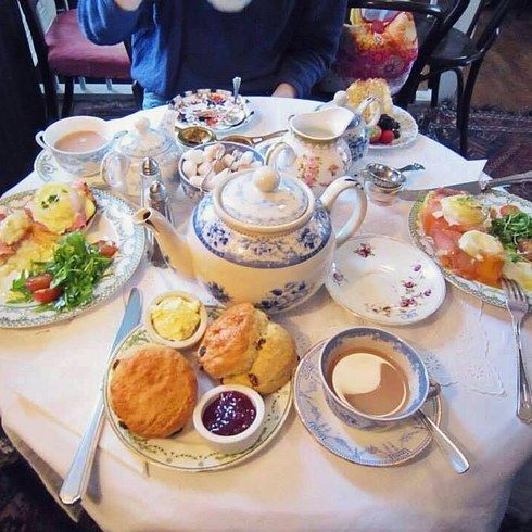 Tea at the Blackbird Tearooms, Brighton (from 21 Absolutely Charming Tea Rooms You Have To Visit Before You Die, on Buzzfeed)