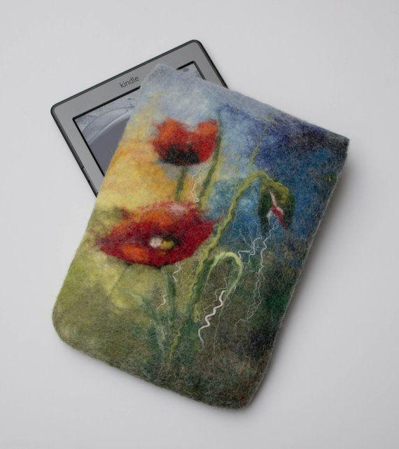 Floral Kindle Paperwhite couverture feutré Kindle par FeltyPretties