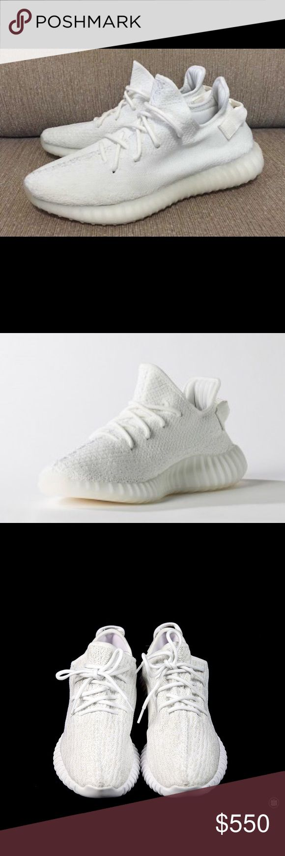 Yeezy Boost 350 v2 All White Size 13 These shoes are brand New in the box straight from Footlocker. They are the brand new Yeezy release and will sell out immediately. Never worn and has all tags. More photos to come! Adidas Shoes Sneakers
