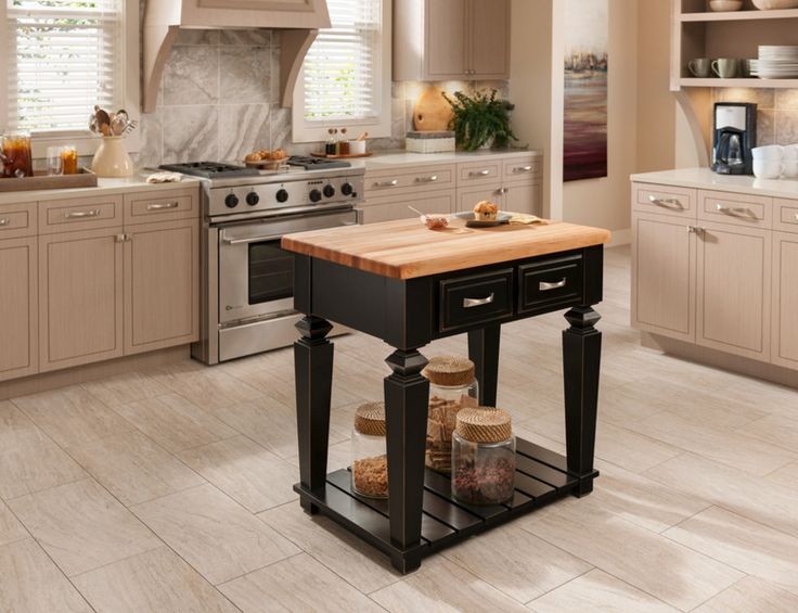 Alexander Kitchen Island In Aged Black Can Ship In As Little As 24 Hours. #
