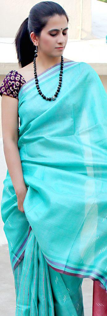 Urban Pari Collection - Tussar Saree - original pin by @webjournal