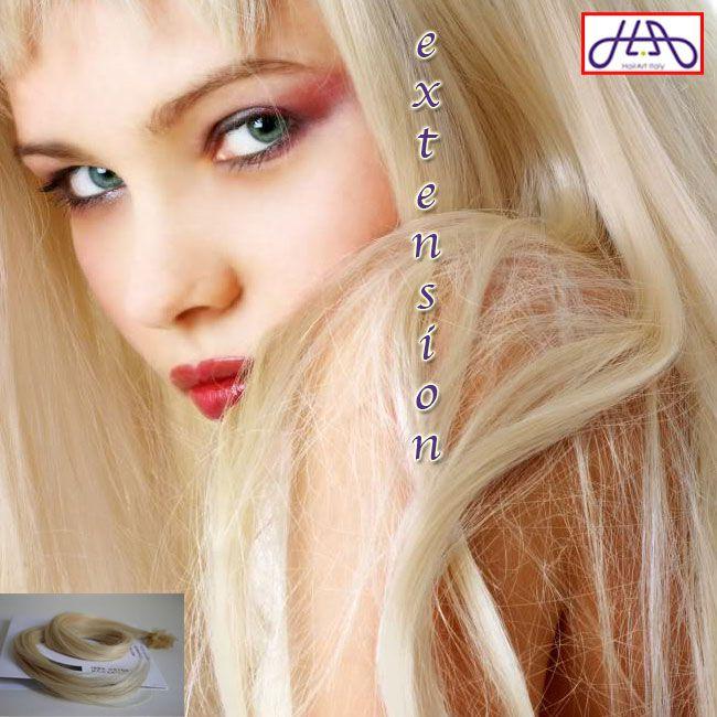 Se vuoi stupire scegli il biondo PLATINO 613: le extension con cheratina di HairArt Italy sono molto facili da applicare. Capelli veri! Acquista sullo store Amazon http://bit.ly/extension-AMAZON oppure sul nostro negozio http://bit.ly/extension-HA approfittando dello sconto di 10 €: usa il codice HAI10OFF, è valido su una spesa superiore ai 55 €. #capelli #hairartitaly