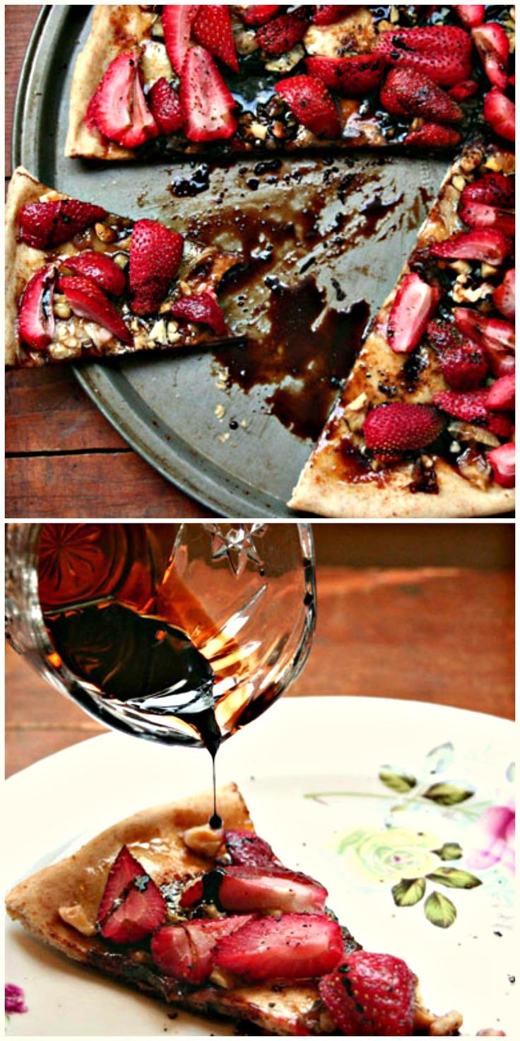 Strawberry Balsamic Tart | Sweet tooth | Pinterest