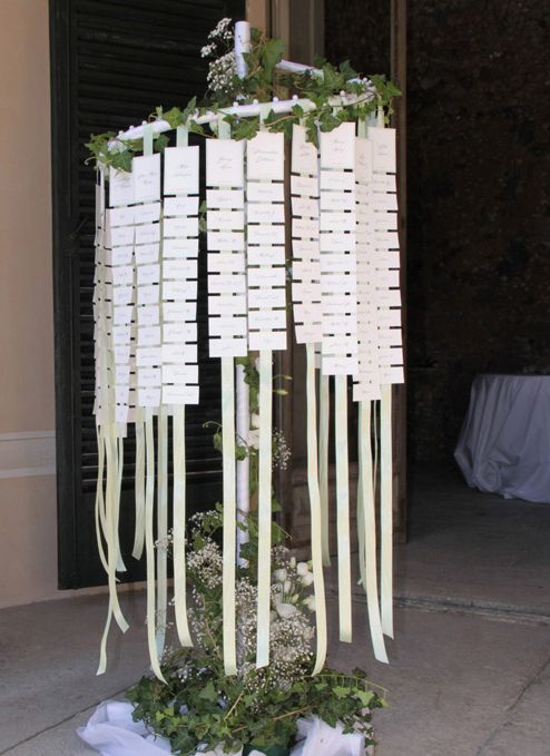 green marriage table
