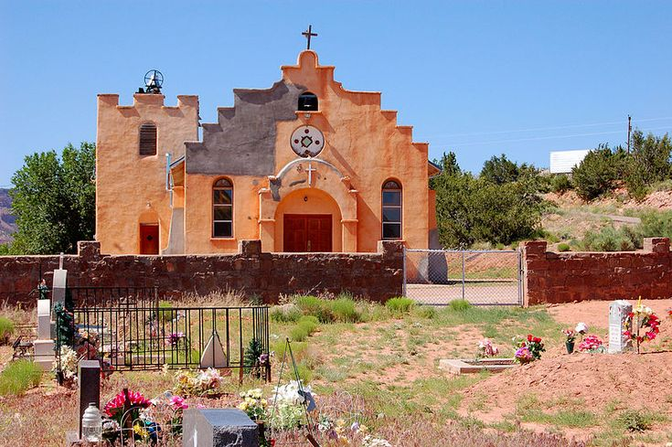 Our Lady of Guadalupe Church, north of Jemez Pueblo