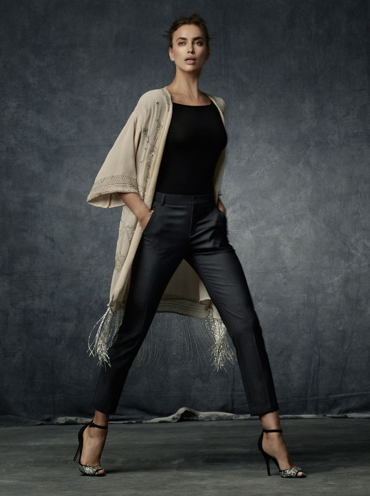 SUITEBLANCO. IRINA SHAYK FOR SUITEBLANCO. NIGHT'14 www.suiteblanco.com