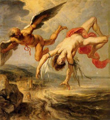 Entre el Olimpo y el Ida: De Dédalo e Ícaro