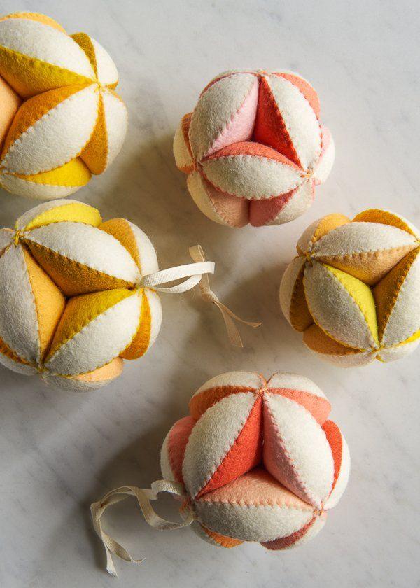 Hand Sewn Puzzle Ball | Purl Soho
