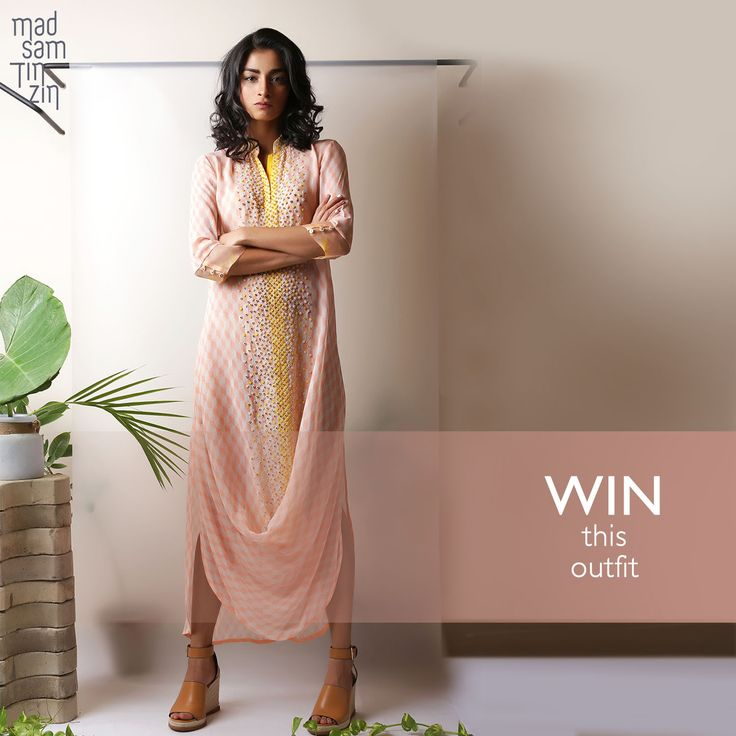 Only 8 days left to make this outfit yours! Submit an image of yourself dressed in a cool ‪#‎nottheusual‬ way and win a designer outfit from Madsam Tinzin. https://www.facebook.com/madsamtinzin/app_79458893817