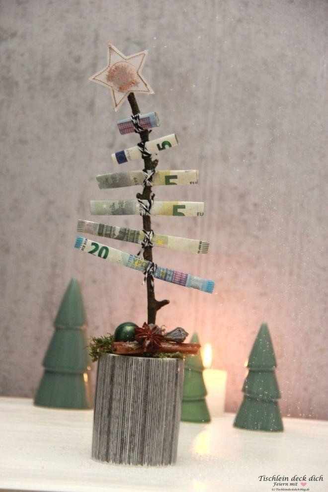 Das geht fix No. 26 – Oh Tannenbaum Geldgeschenk zu Weihnachten