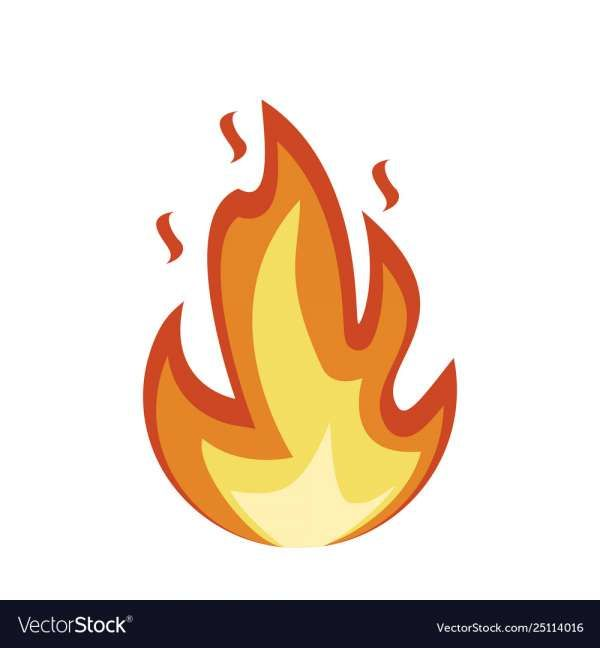 12 Fire Emoji Vector Stock Images Free Cartoon Icons Vector Images