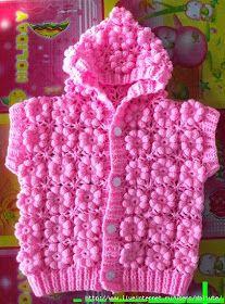 Meravigliosa giacca di pizzo a rose! Schema.