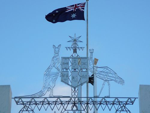 Australian Coat of Arms at Parliament House, Canberra