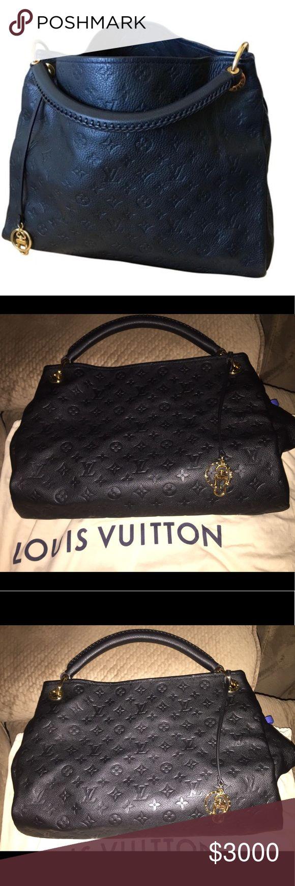 Authentic Louis Vuitton Pristine Artsy Empriente Brand new with box. Never worn. Louis Vuitton Bags