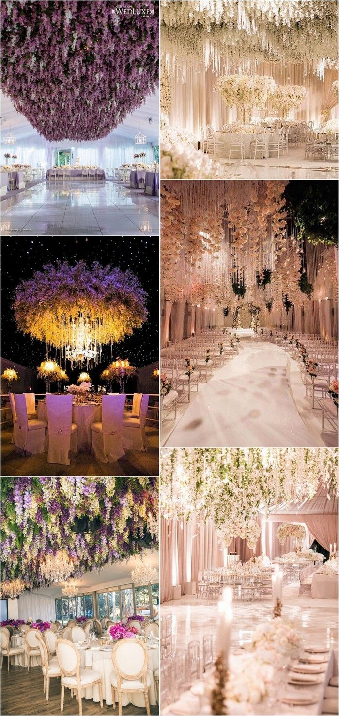 Trending 12 Fairytale Wedding Flower Ceiling Ideas For Your Big Day Oh Best Day Ever Wedding Ceiling Decorations Flower Ceiling Wedding Ceiling