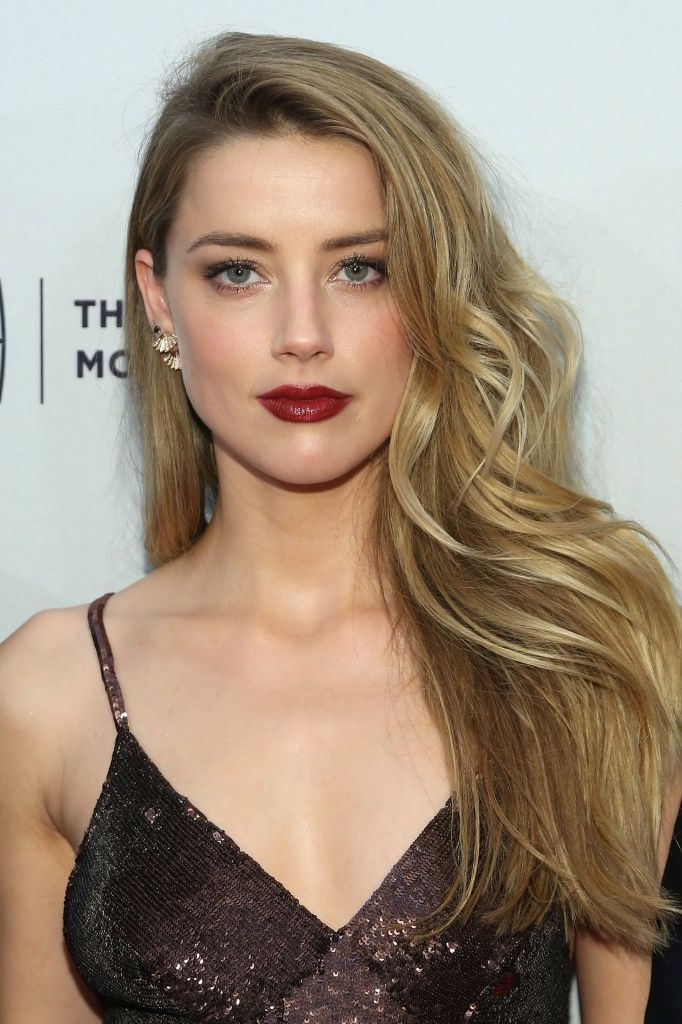 Amber Heard. She looks so different every time she changes her makeup but love her best with smokey eyes and dark lips.