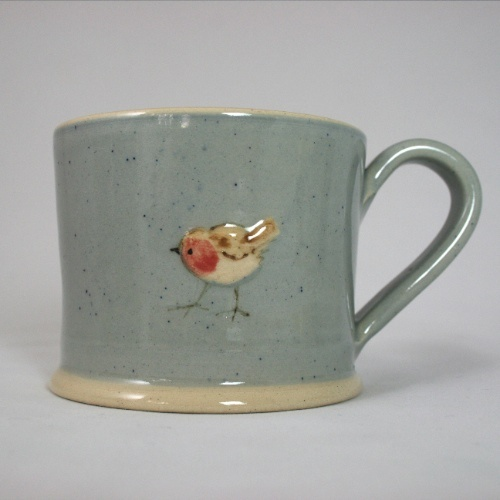 Jane Hogben Terracotta Bird Mugs £18.00