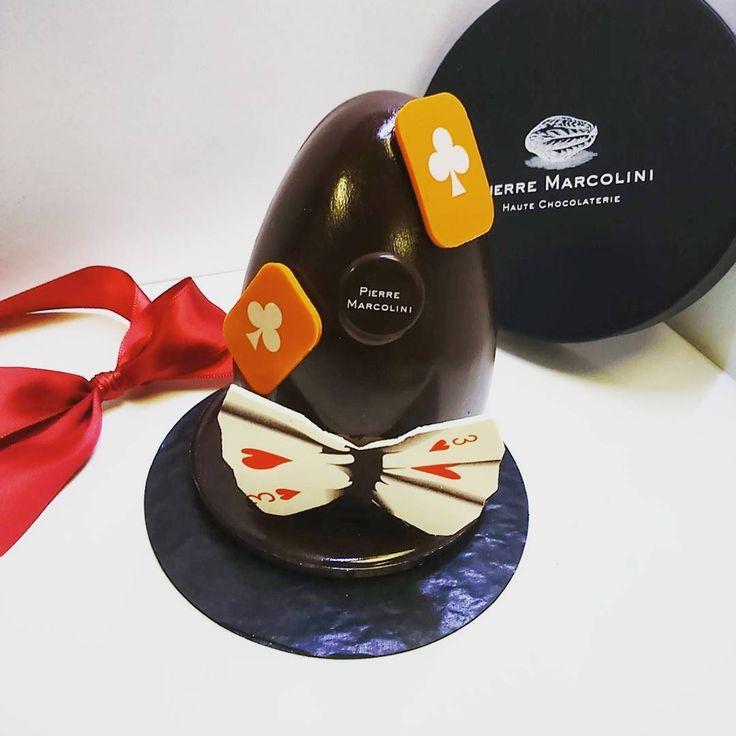 Le bel oeuf de pâques de Pierre Marcolini #pierremarcolini #easter #egg
