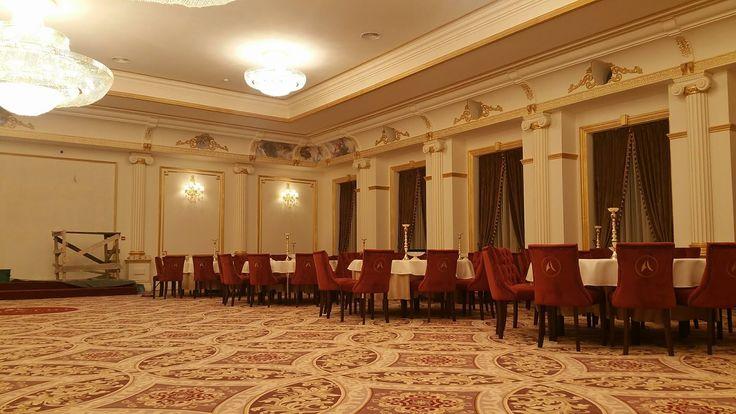 Interior salon de evenimente cu profile decorative din polistiren CoArtco