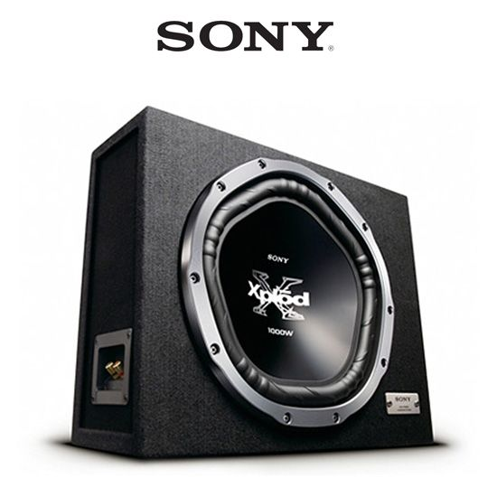 Sony XS-GTX121LS 12 inch Loaded Enclosure Series Car Subwoofer w/ subwoofer box
