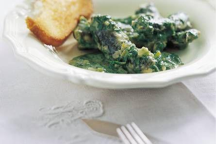 Paling in het groen - Recept - Allerhande - Albert Heijn