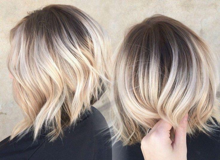Les 25 meilleures id es de la cat gorie coiffures blond fonc sur pinterest m ches blond fonc - Couleur blond fonce sur meches blondes ...