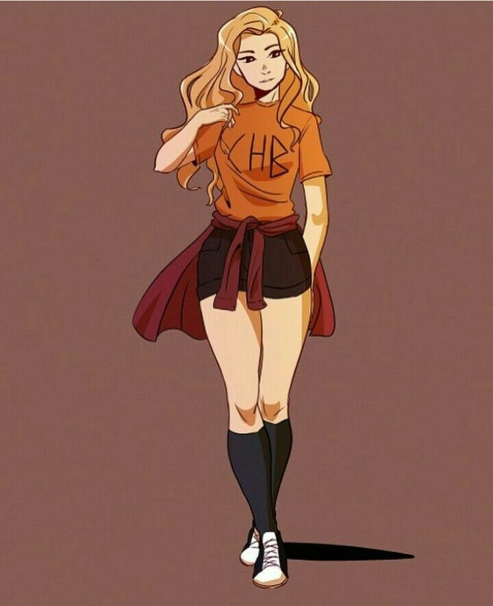 My favorite depiction of Annabeth ever.