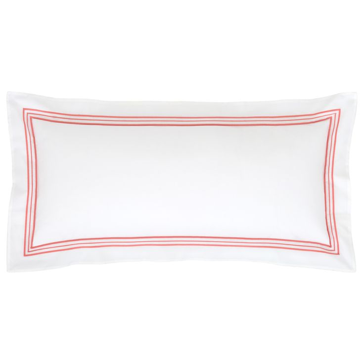 Pine Cone Hill Trio Coral Double Boudoir Pillow @LaylaGrayce