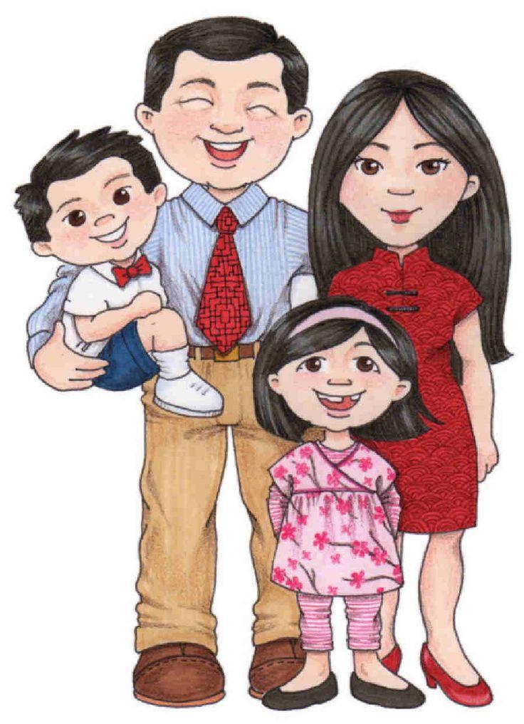 Dibujos Familia, ILUSTRACIONES Infantiles Susan Fitch y Otro