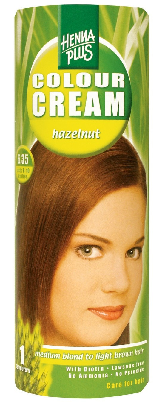 Henna Plus Color Cream Hazelnut 6 35 Temporary Staining