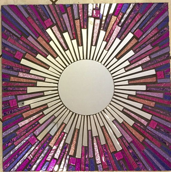 Stained Glass Mosaic Mirror by SpoiledRockinMosaics on Etsy