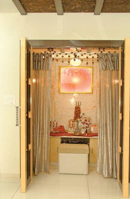 Pooja Room Ideas in Small House | Pooja room design, Pooja ...