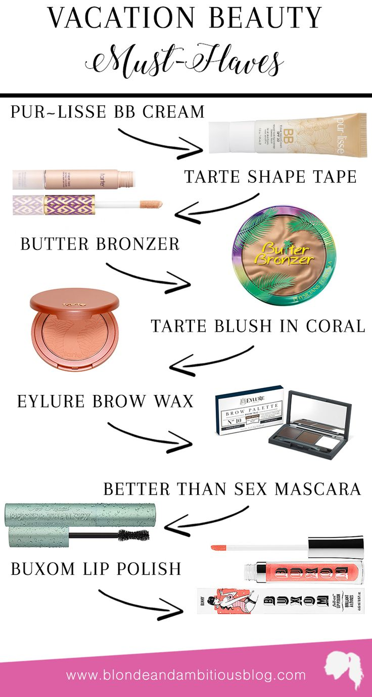 Vacation Beauty Must-Haves | international vacation, packing list, vacation packing, carry-on suitcase, what to bring to the dominican republic, dominican republic, best travel makeup, best travel accessories, vacation beauty essentials