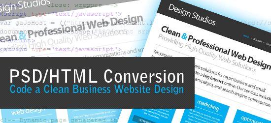 Code a Clean Business Website
