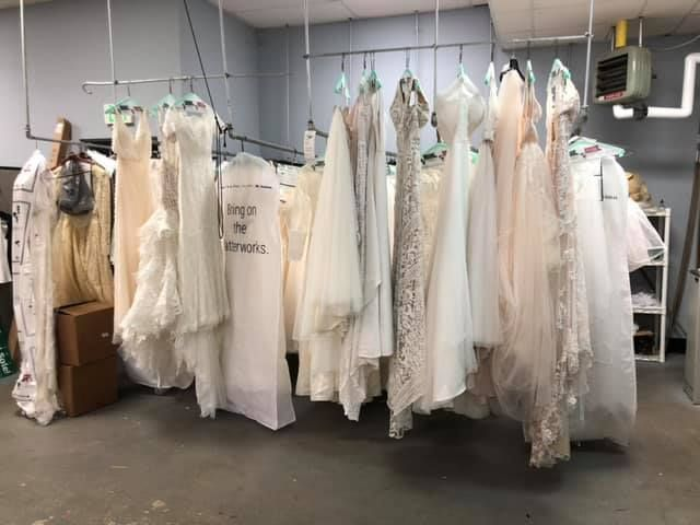 Everyone Knows That You Should Take Your Gown To A Cleaner After The Wedding But What About In 2020 Wedding Gown Cleaning Wedding Gown Preservation Gown Preservation