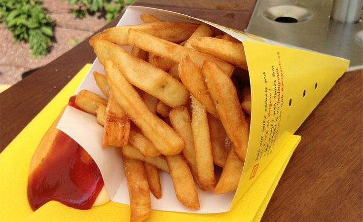 Le patatine fritte del Belgio