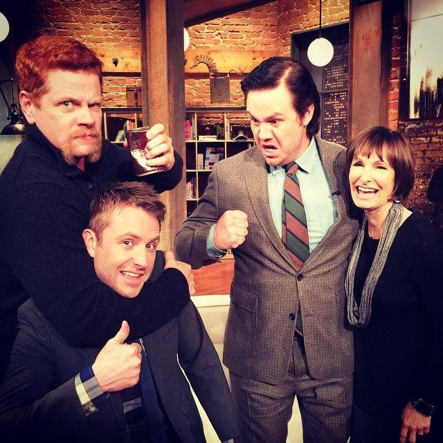 MICHAEL CUDLITZ, JOSH McDERMITT AND GALE ANNE HURD GUEST STAR ON THE TALKING DEAD - NOVEMBER 9.