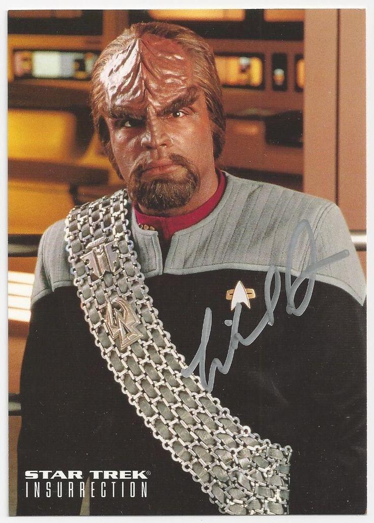 Michael Dorn - Star Trek Insurrection signed photo | eBay