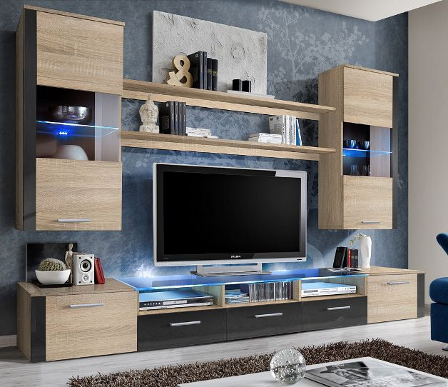 wall unit designs for living room. Lumia 5  sonoma oak tv wall unit Best 25 Living room units ideas on Pinterest Wall