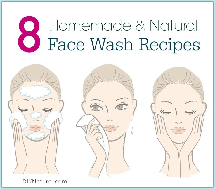 These 8 homemade face wash recipes are natural and easy to make. Just follow the simple steps and you will have a custom face wash that cleans and invigorates!