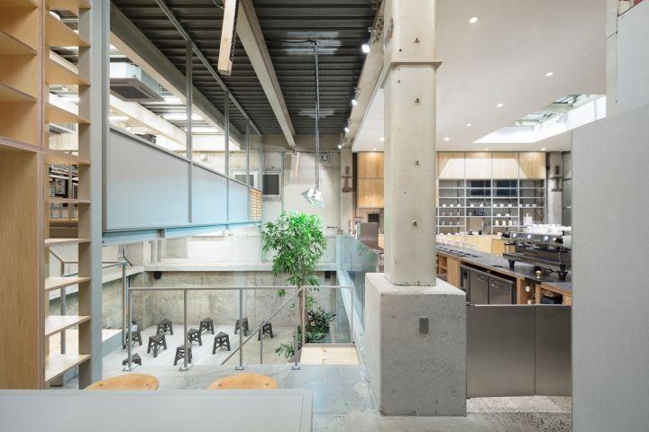 Blue Bottle Coffee NAKAMEGURO Cafe by Schemata Architects Tokyo  Japan