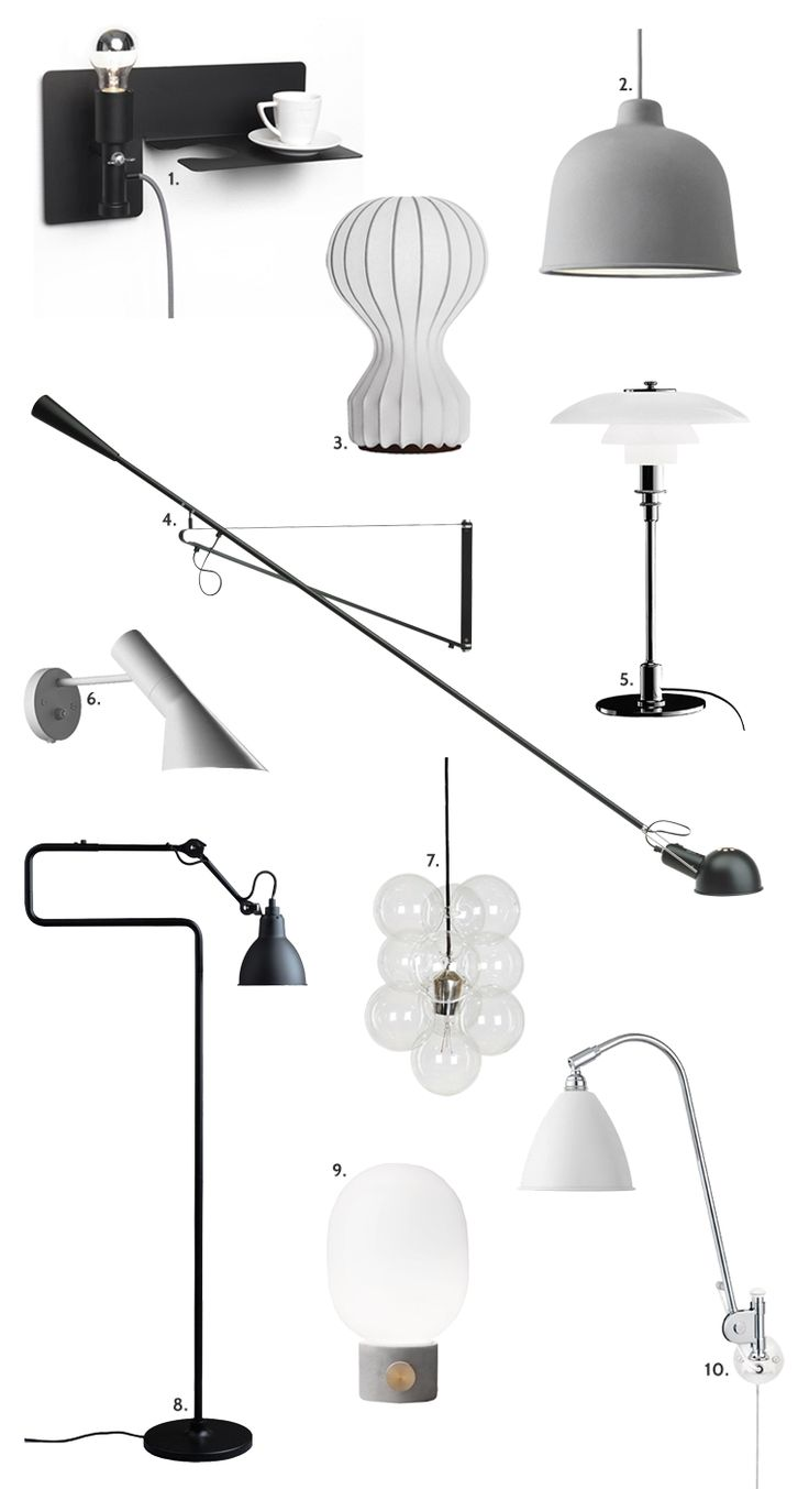 10 lampefavoritter - Stylizimo
