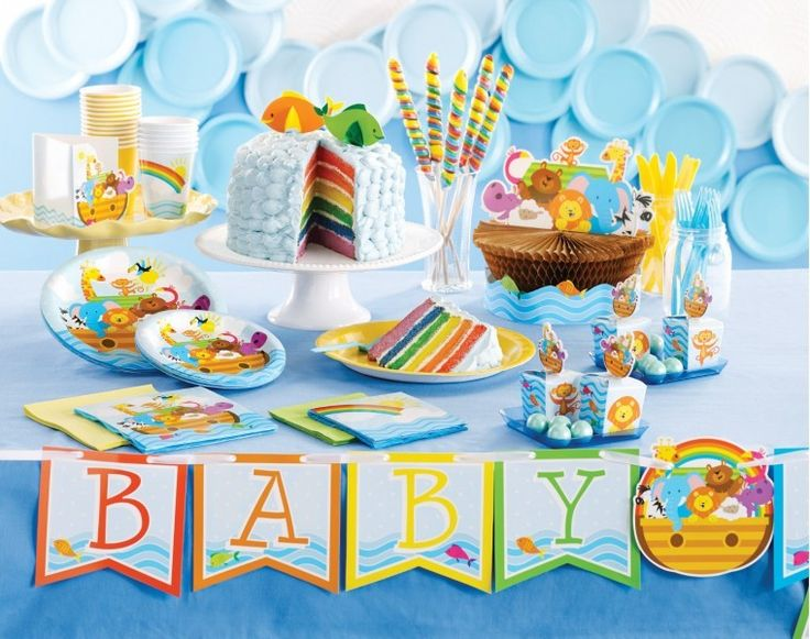 54 besten baby party baby shower deko bilder auf pinterest for Baby shower party deko