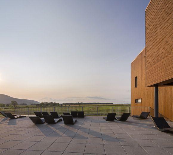 LEMAYMICHAUD | Quebec | Architecture | Interior Design | Spa | Seating | Exterior | Landscape