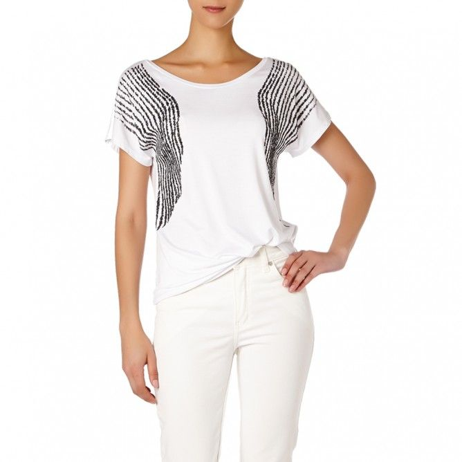 VISCOSE EMBROIDERED BLOUSE
