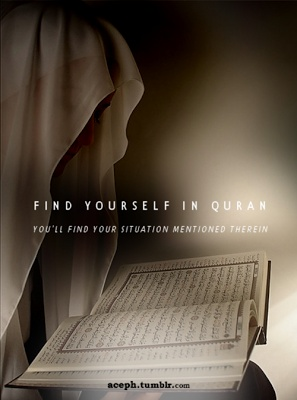 Find yourself in Quran