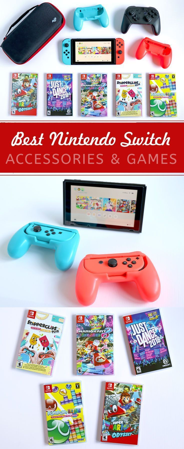 Just The Basics Getting Started W Nintendo Switch Accessories Games Switch Ninten Nintendo Switch Accessories Video Games For Kids Nintendo Switch System
