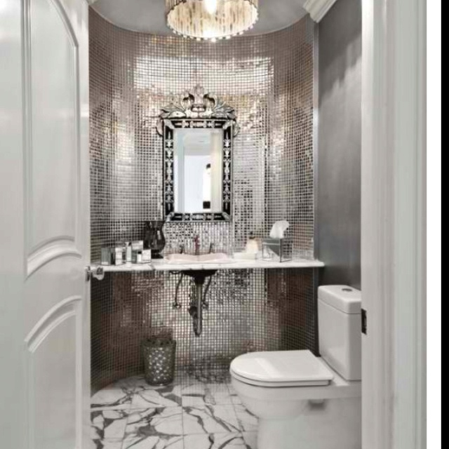 18 Best Powder Room Ideas Images On Pinterest Bathroom