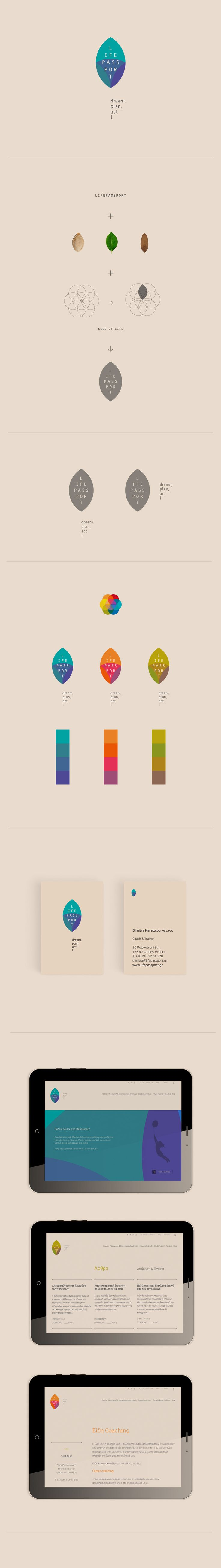 lifepassport - dream, plan, act! on Behance